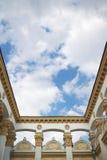 Trame architecturale néoclassique photo stock