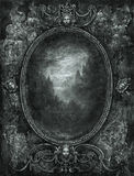 Trame baroque Image stock