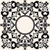 Trame baroque décorative Image libre de droits