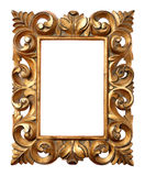 trame baroque en bois Image libre de droits