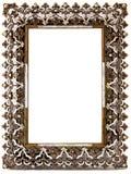 Trame blanc admirablement décorée Image stock