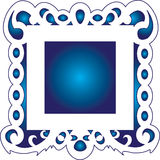 Trame bleue Photo libre de droits