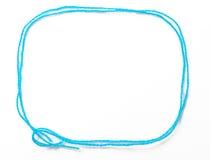 Trame bleue d'amorçage Image stock