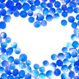 Trame bleue de dièse de coeur   Photographie stock