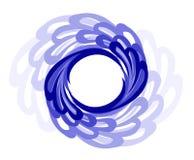 Trame circulaire. Type de l'eau. Images stock
