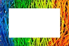Trame colorée Images libres de droits