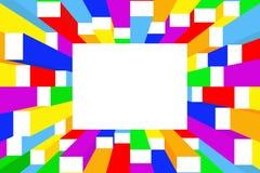 Trame colorée Image libre de droits
