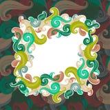 Trame colorée d'onde Image stock