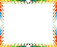 Trame colorée de crayons Image stock