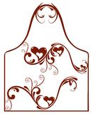 Trame créatrice de coeur abstrait illustration de vecteur