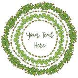 Trame décorative de cercle Image libre de droits