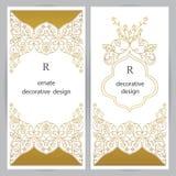 Trame décorative de vecteur Élément élégant pour le calibre de conception Images libres de droits
