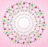 Trame d'étoile Images libres de droits