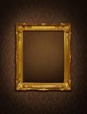Trame d'or Photographie stock libre de droits