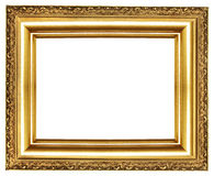 Trame d'or Photographie stock