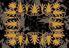 Trame d'or abstraite Illustration de Vecteur