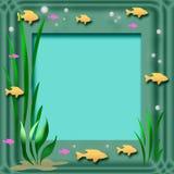 Trame d'aquarium illustration de vecteur