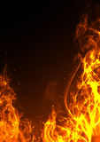 Trame d'incendie Image stock