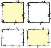 Trame de Barbwire illustration libre de droits