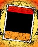 Trame de cadre de présentation horizontale sur microfilm Photo libre de droits