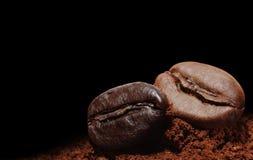Trame de café Images libres de droits
