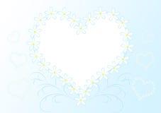 Trame de coeur Photo stock