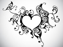 Trame de coeur illustration libre de droits