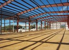 Trame de construction en acier Photographie stock libre de droits