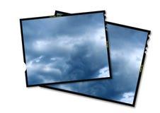 trame de film de 6x7mm Photographie stock libre de droits