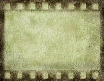 Trame de film grunge Photo stock