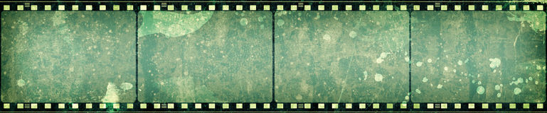 Trame de film grunge Photos stock