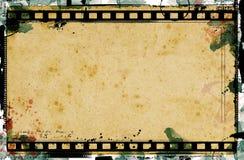 Trame de film grunge Photos libres de droits