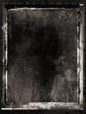 Trame de film grunge noire d'encre Photo stock