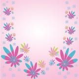 Trame de fleur Photo stock
