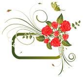 Trame de fleur Photo libre de droits