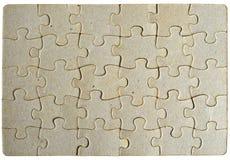 Trame de fond de puzzle Image libre de droits