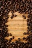 Trame de grain de café Photographie stock