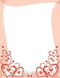 Trame de jour de Valentines Image libre de droits