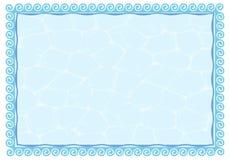 Trame de l'eau illustration de vecteur