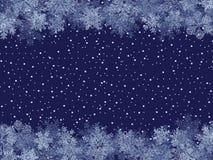 Trame de l'hiver Photographie stock