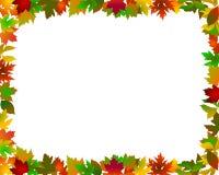 Trame de lames d'automne illustration libre de droits