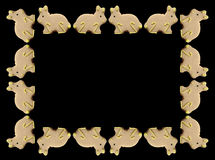 Trame de lapins de Pâques Photographie stock libre de droits