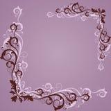 Trame de lilas de cru illustration de vecteur