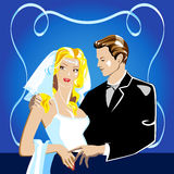 Trame de mariage Images stock