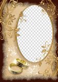 Trame de mariage Image stock