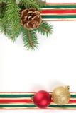 Trame de Noël Photos libres de droits