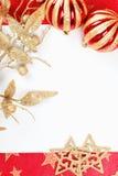 Trame de Noël Images libres de droits