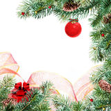 Trame de Noël Photo libre de droits