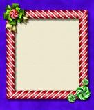 Trame de Noël de menthe poivrée photos libres de droits
