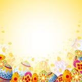 Trame de Pâques illustration stock